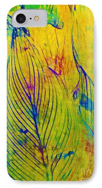 Leaves In The Jungle Phone Case by Judi Bagwell
