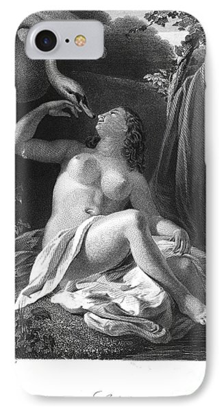 Leda And The Swan Phone Case by Granger