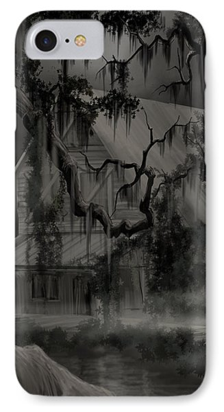 Legend Of The Old House In The Swamp Phone Case by James Christopher Hill