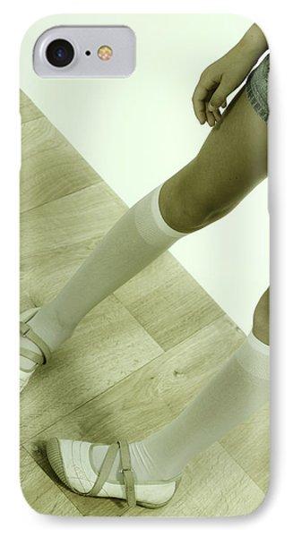 Legs Of A Girl Phone Case by Joana Kruse