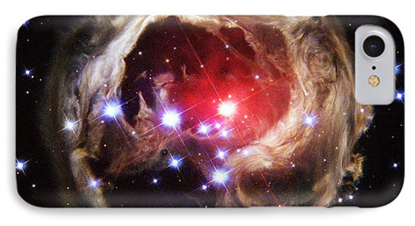 Light Echoes From Exploding Star Phone Case by Space Telescope Science Institute / NASA