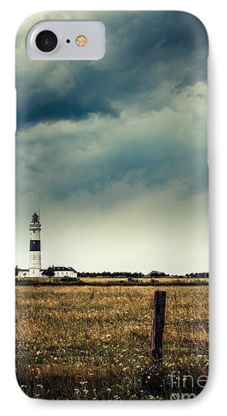 Lighthouse Of Kampen -vintage Phone Case by Hannes Cmarits