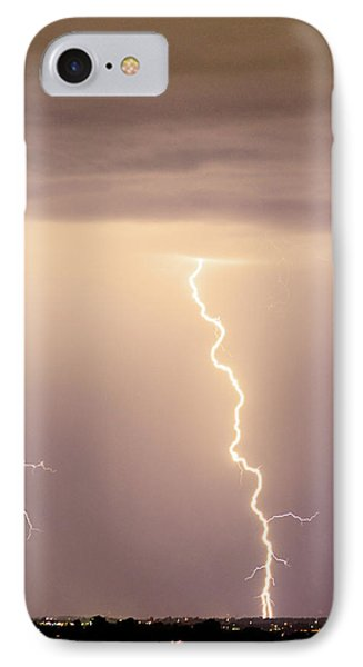 Lightning Bolt With A Fork IPhone Case by James BO  Insogna