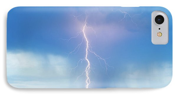Lightning Twine Striking The Colorado Rocky Mountain Foothills IPhone Case by James BO  Insogna