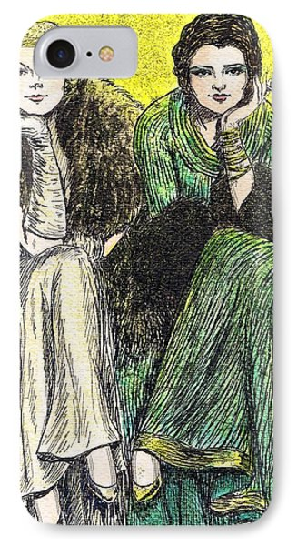 Lilyan And Kay Phone Case by Mel Thompson