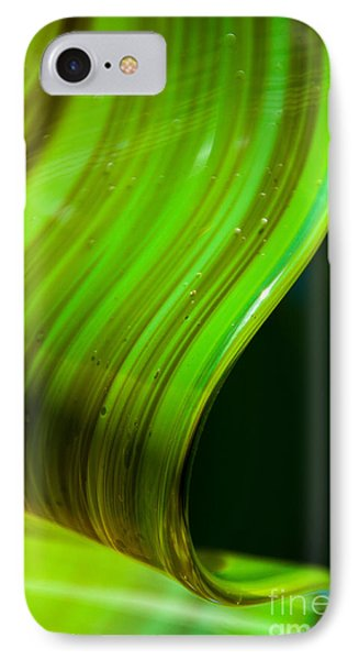 Lime Curl Phone Case by Dana Kern
