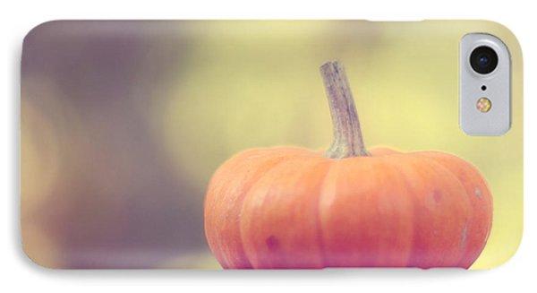 Little Pumpkin IPhone Case by Amy Tyler