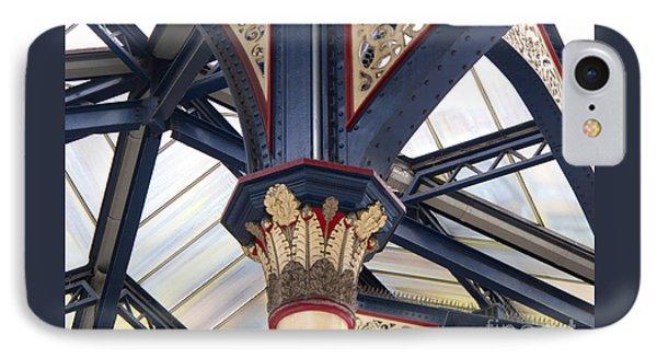 Liverpool Street Skylight Phone Case by Ann Horn