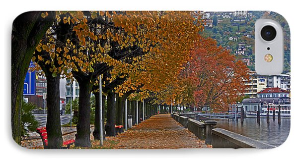Locarno In Autumn Phone Case by Joana Kruse