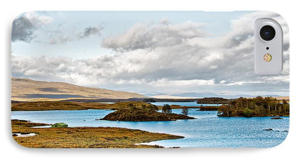 Loch Ba View Phone Case by Chris Thaxter