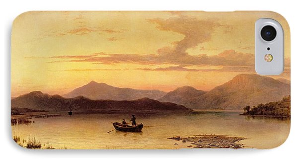 Loch Etive From Bonawe In The Evening Phone Case by George Edwards Hering