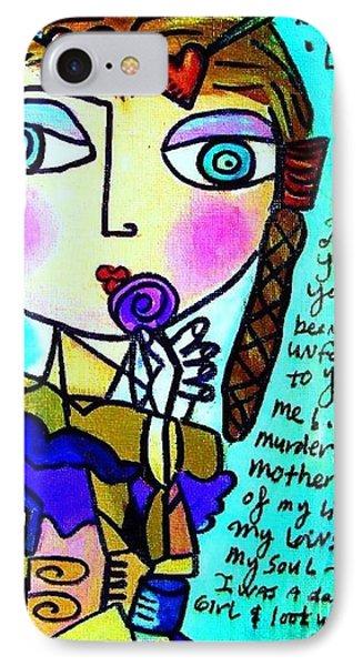 Lolita IPhone Case by Sandra Silberzweig
