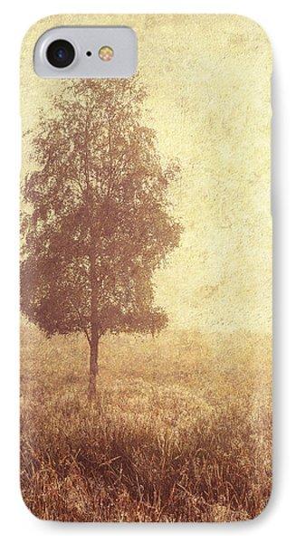 Lonely Tree. Trossachs National Park. Scotland Phone Case by Jenny Rainbow