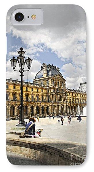 Louvre Museum Phone Case by Elena Elisseeva