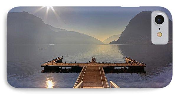 Lugano Phone Case by Joana Kruse