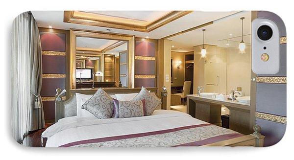 Luxury Bedroom Phone Case by Setsiri Silapasuwanchai