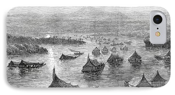Malaya: Perak River, 1876 Phone Case by Granger