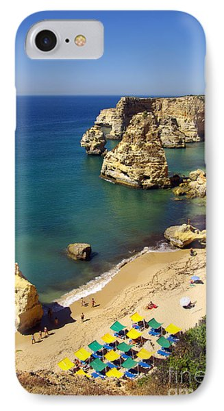Marinha Beach IPhone Case by Carlos Caetano