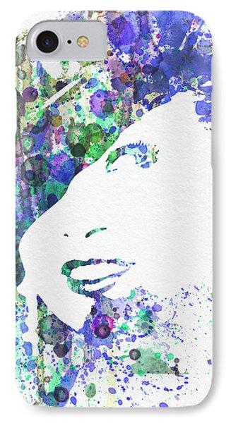 Marlene Dietrich IPhone Case by Naxart Studio