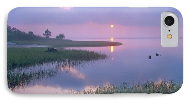 Marsh At Sunrise Over Eagle Bay St Phone Case by Tim Fitzharris