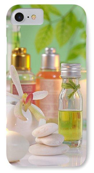 Massage Spa Concepts IPhone Case by Atiketta Sangasaeng