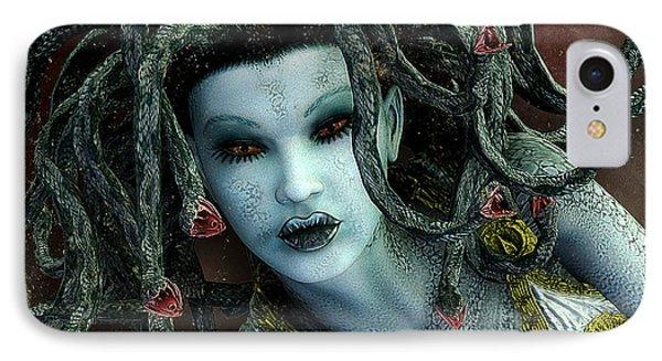 Medusa IPhone Case by Jutta Maria Pusl