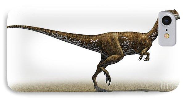 Megapnosaurus Kayentakatae Phone Case by Sergey Krasovskiy