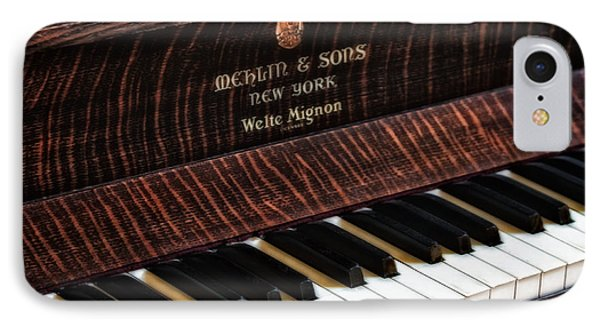 Mehlin And Sons Piano Phone Case by Susan Candelario