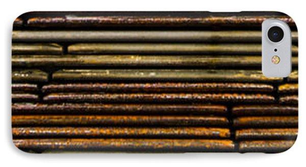Metal Stripe  Phone Case by Jean Noren
