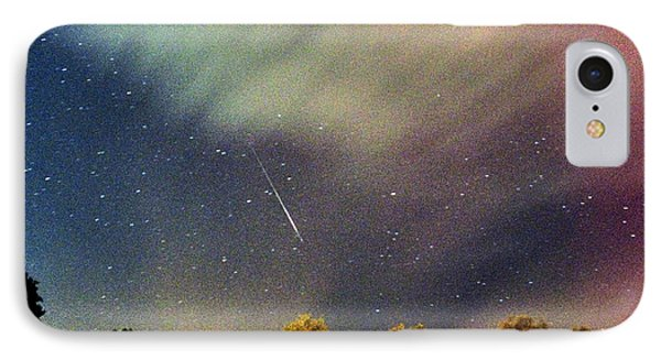 Meteor Perseid Meteor Shower Phone Case by Thomas R Fletcher