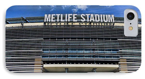 Metlife Stadium Phone Case by Paul Ward