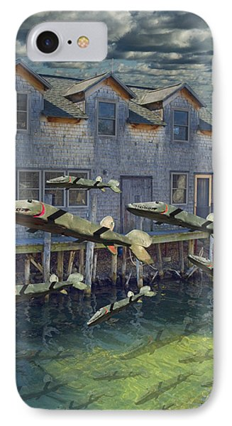 Migration IPhone Case by Randall Nyhof
