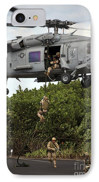 Military Reserve Navy Seals Demonstrate IPhone Case by Michael Wood