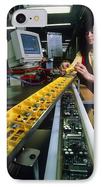 Mindstorm Programmable Lego Brick Manufacture Phone Case by Volker Steger
