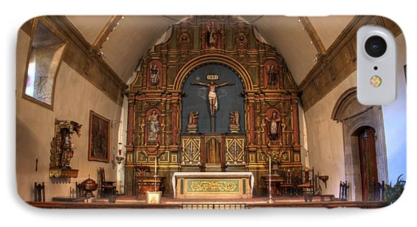 Mission San Carlos Borromeo De Carmelo  11 Phone Case by Bob Christopher
