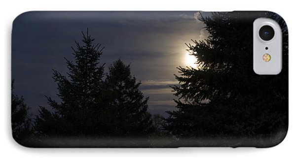 Moon Rising 01 Phone Case by Thomas Woolworth