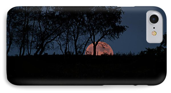 Moonscape IPhone Case by Betsy Knapp
