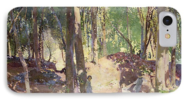 Morning In The Woods IPhone Case by Harry Watson