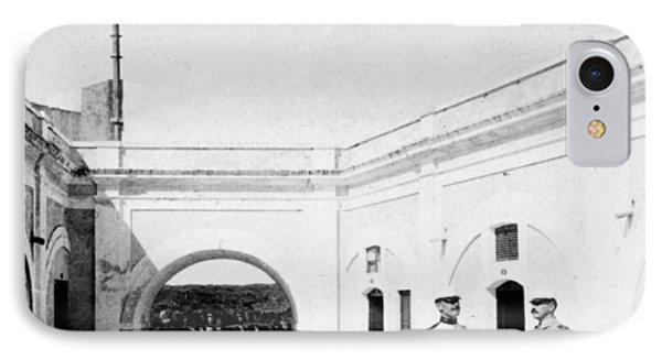 Morro Castle - Interior - San Juan - Puerto Rico - C 1900 Phone Case by International  Images