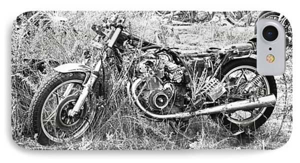 Motorcycle Graveyard Phone Case by Douglas Barnard