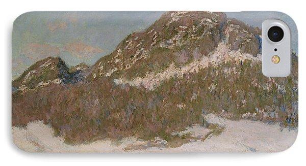 Mount Kolsaas In Sunlight IPhone Case by Claude Monet