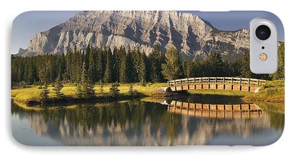 Mount Rundle And Cascade Ponds, Banff Phone Case by Darwin Wiggett
