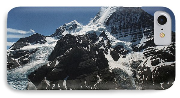 Mountain With Glacier And Snow Phone Case by Kelly Redinger