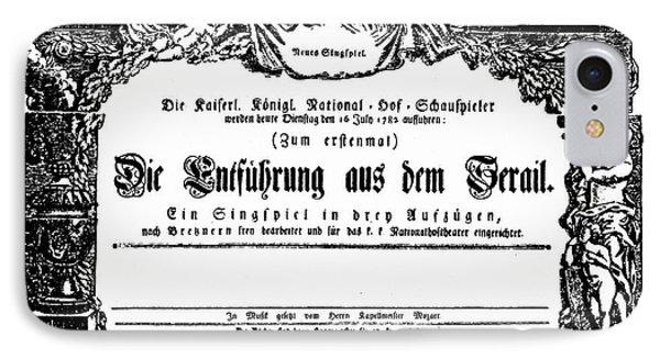Mozart: Seraglio, 1782 Phone Case by Granger