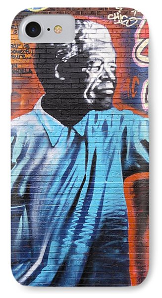 Mr. Nelson Mandela Phone Case by Juergen Weiss