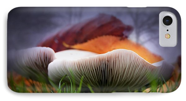 Mushrooms Close Up Phone Case by Svetlana Sewell