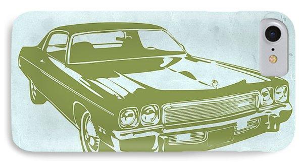 My Favorite Car 5 IPhone Case by Naxart Studio