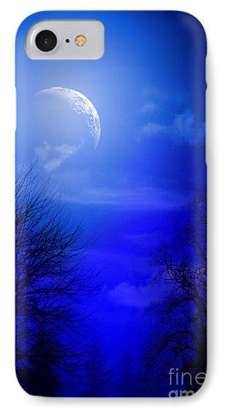 Mystic Night IPhone Case by Mark Ashkenazi