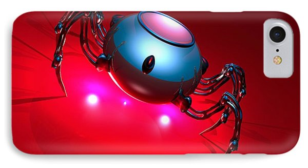 Nanorobot, Conceptual Artwork Phone Case by Victor Habbick Visions