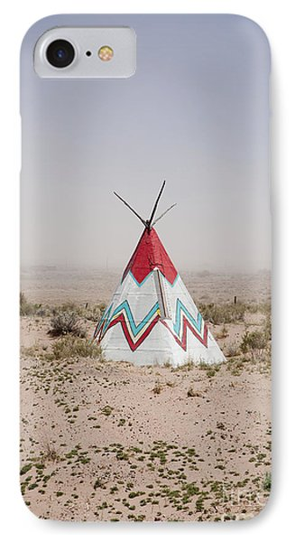 Native American Tipi Replica Phone Case by Paul Edmondson